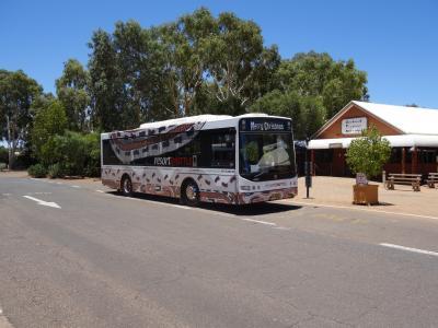 リゾート内の巡回バス