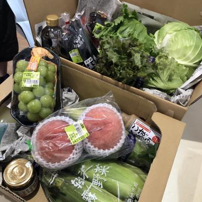 瑞々しい新鮮な霧下野菜を求めて軽井沢発地市庭へ