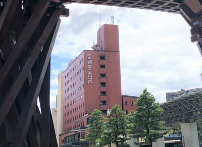 金沢駅前のホテルです。