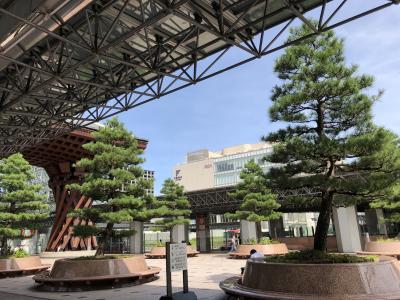 金沢のバス観光の拠点。