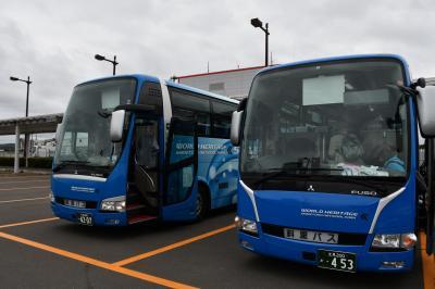 道東観光で乗った斜里バス