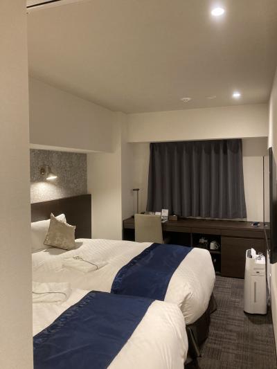 オープンしたばかりの綺麗なホテル