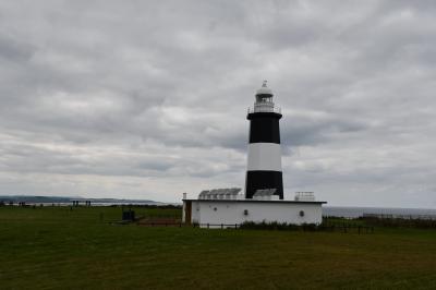 灯台が印象的な能取岬