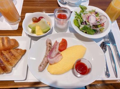 メインが選べる美味しい朝食