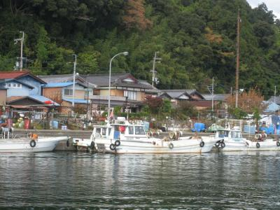 琵琶湖に浮ぶ有人島!