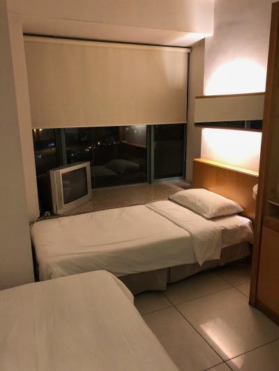 政府が用意したウイルス検査結果待ち用ホテル。