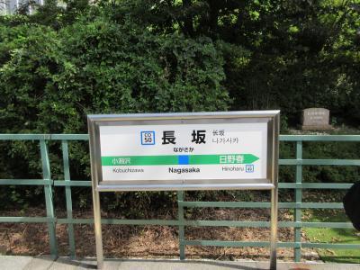坂の途中にある駅