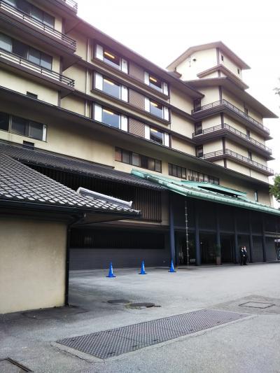 お庭が有名な老舗ホテル