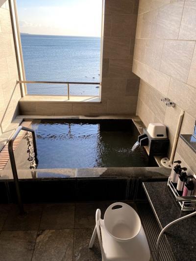 部屋の露天風呂が最高