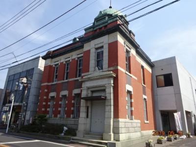 小江戸と呼ばれる佐原の街並みに洋風の建物が目を引く