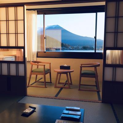 富士山の眺望が素晴らしい