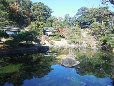 3,000坪の回遊式日本庭園