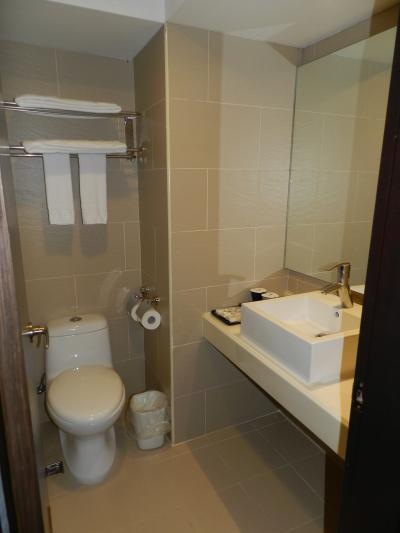 トイレと洗面台が一体になっています