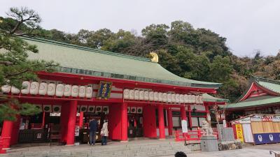 海の見えるいい景色の神社