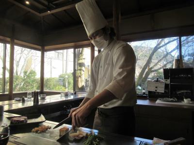 ステーキ割烹レストランを利用