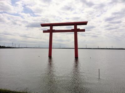 水上鳥居としては日本一
