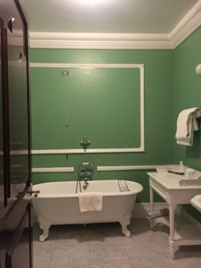 豪華なバスルーム。