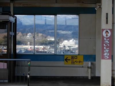 寂しい駅です・・・。