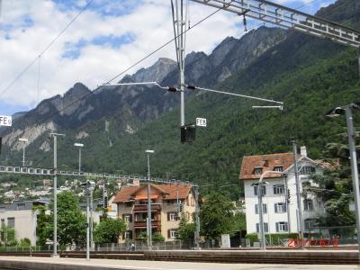クール駅は標高が最も低い 585m
