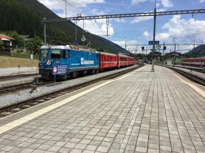 スイスでは4路線に乗りました