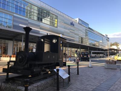 可愛らしい蒸気機関車
