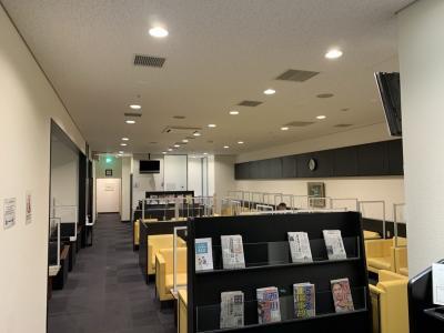 函館空港にはサクララウンジが無い・・・
