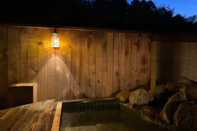 露天風呂付のお部屋がお勧めの温泉宿です。