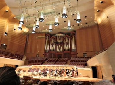 オルガンは迫力不足だが、オーケストラ演奏にはいい音響