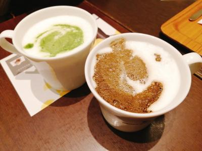 お気に入りの抹茶カフェ