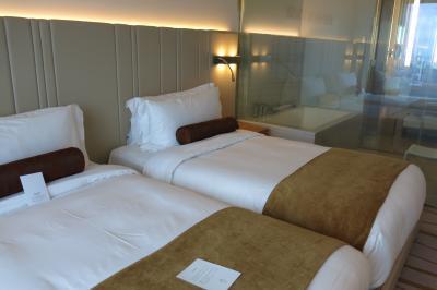 施設は立派で部屋もきれいで広いが、サービスが価格帯に比して残念
