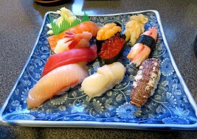 駅近で手ごろな値段でおいしい寿司が食べられます。