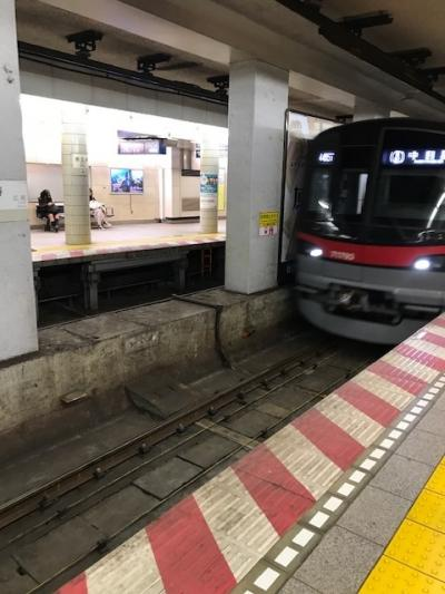 中目黒までの1駅分