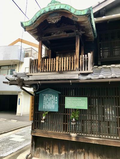名古屋駅から地下鉄で一駅 古い町並みが残るを散策