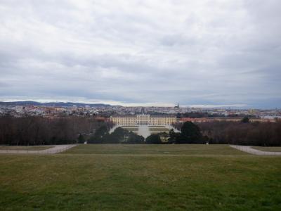 シェーンブルン宮殿のある公園