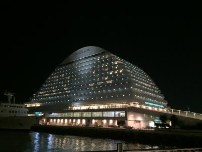 神戸ハーバーの夜景を堪能
