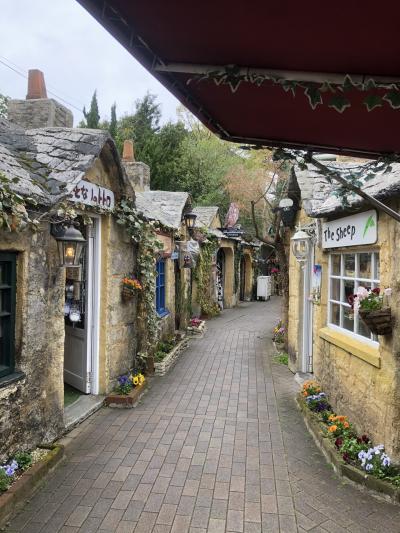 イギリスの田舎の町並み