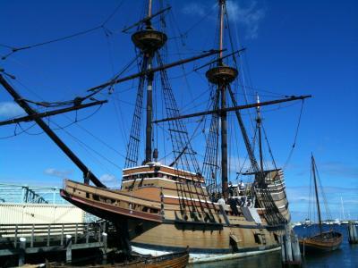 イギリス人のアメリカ移住はこの船から始まった。