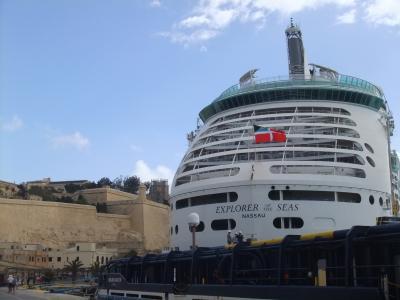 城壁近っ! CruisePort