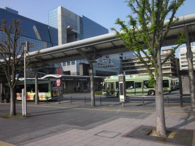 大きなバスターミナル