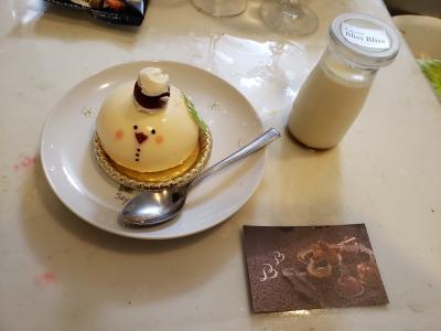 嵐がコンサートで札幌に来たの時にここのケーキを食べたようですよ。