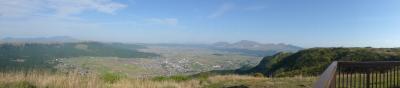 阿蘇山がパノラマで見れる絶景スポットです!!