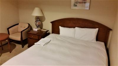 禁煙ダブルルームに宿泊しました。客室、浴室供に清潔感があり気分良く宿泊できました。