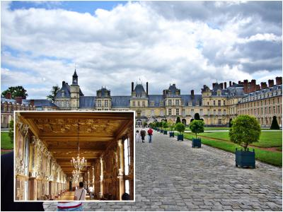 相変わらず、ベルサイユ宮殿より空いてて静か