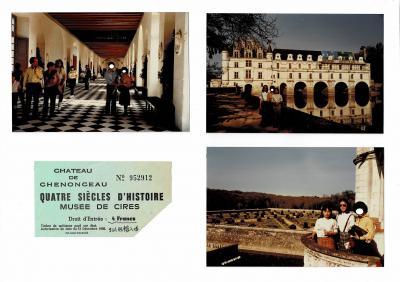 フランスの「ロワール渓谷」に含まれる古城の中でも、特に人気が高いシュノンソー城は美しい。