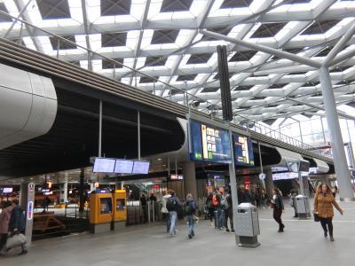デンハーグの駅