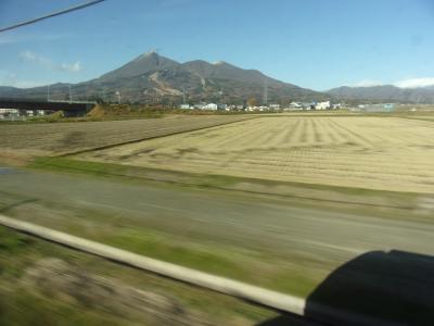 福島の代表する山が磐越西線から眺められます!