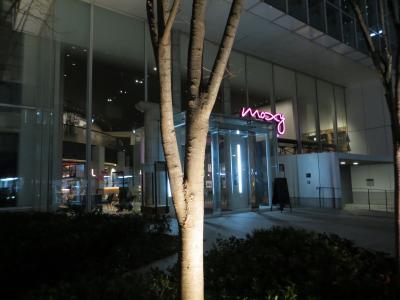 良いロケーションで 設備がカッコイイ モクシ―大阪本町