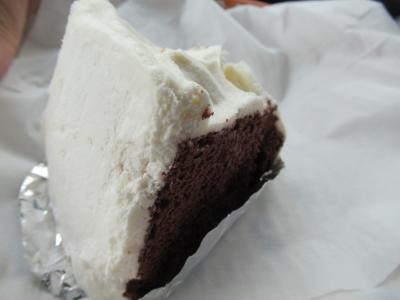 ケーキが美味しかった