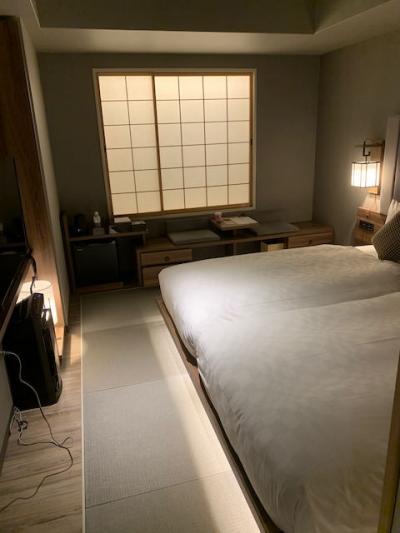 カジュアルながら日本情緒も感じさせるホテル
