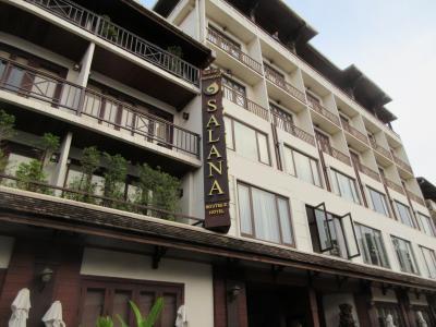 隠れ家的な小規模高級ホテル。